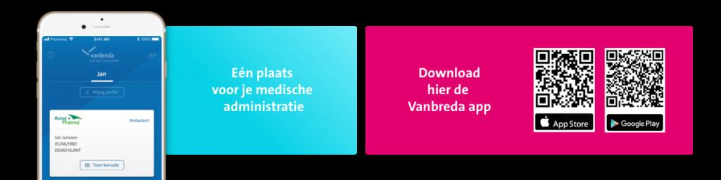 Vanbreda app
